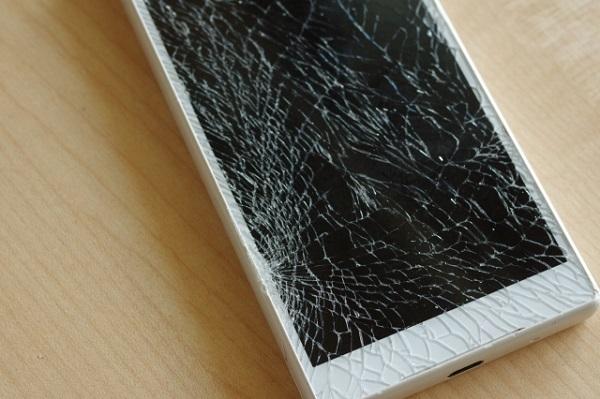 スマートフォン故障
