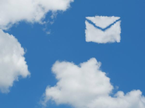 雲でメール
